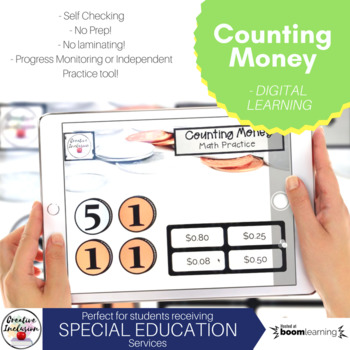 Counting Money Digital Learning Activity!