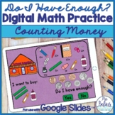 Counting Money Digital Math Practice for Google Slides™ Do