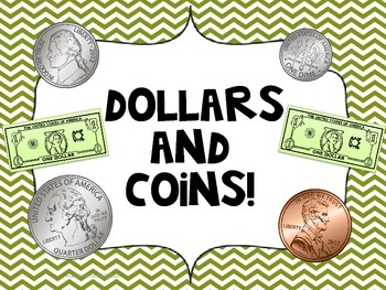 Counting Money - Dollars and Coins! Common Core Aligned!