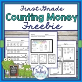 Counting Money  FREEBIE First Grade Math Easel Compatible