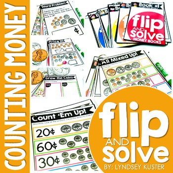 Counting Money - Flip and Solve Books