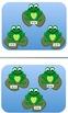 Counting Money Frog File Folder/Center Game