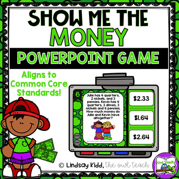 Counting Money Game:  Interactive PowerPoint Game