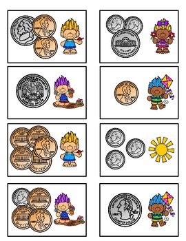 Counting Money Game (Spring Troll Fun)