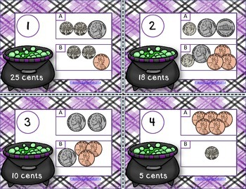 Counting Money Halloween Style!