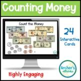Counting Money Hundreds to Hundredths 24 Digital Boom Card