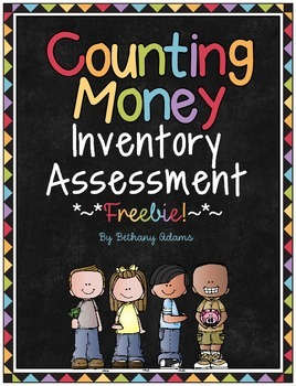 Counting Money Inventory Assessment ~*Freebie*~