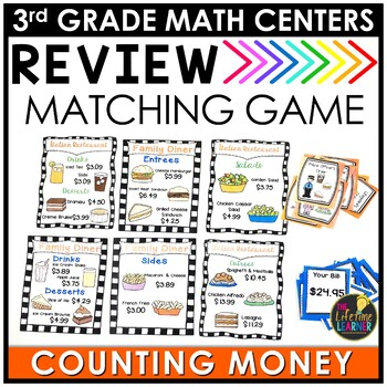 Counting Money July Math Center