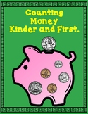 Counting Money Kinder and First Grade  #bts30