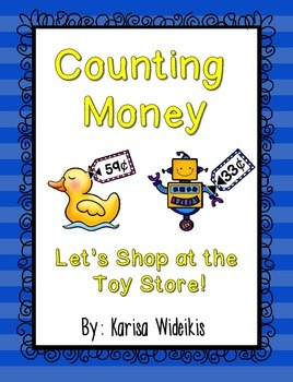 Counting Money-Let's Shop at the Toy Store!