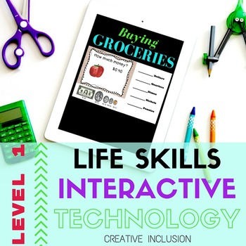 Money Life Skills DIGITAL Learning - Special Education Resource