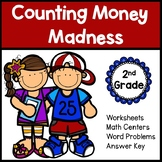 Counting Money Worksheets for Second Grade