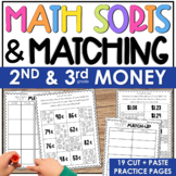 2nd Grade Counting Money Worksheets Cut and Paste Printables