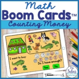 Counting Money Math Boom Cards™ Do I Have Enough? Pet Store