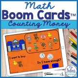 Counting Money Math Boom Cards™ Do I Have Enough? Toy Store
