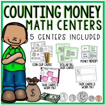 Counting Money Math Centers
