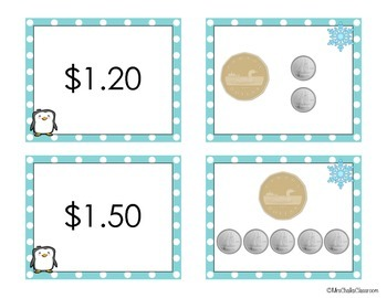 Counting Canadian Money {Math Centre for Winter: December, January, February}