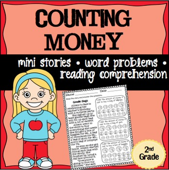 Counting Money Math Stories Word Problems 2nd Grade