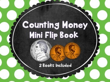 Counting Money Mini Flip Book