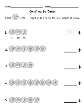 Counting Money - Nickels and Dimes