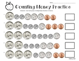 Counting Money Practice Worksheet