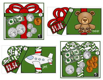 Math- Money - Counting Money - Presently Surprised (Christmas)