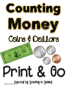 Counting Money Print and Go