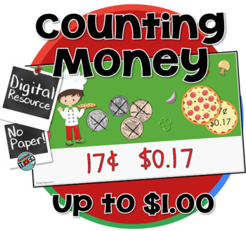 Counting Money Self-Checking Digital Resource and Game