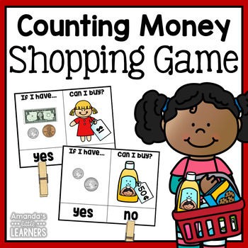 Counting Money Shopping Game
