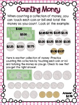 Counting Money Small Group Lesson #2