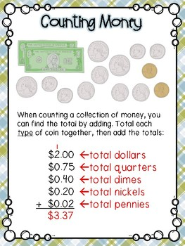 Counting Money Small Group Lesson