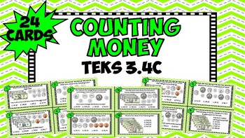 Counting Money - TEKS 3.4C