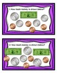 Counting Money Task Cards Amounts Under $6.00