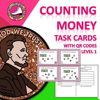 Counting Money Task Cards - Level 1