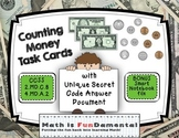 Counting Money Task Cards with Self-checking Answer Code
