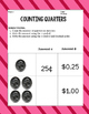 Counting Money Unit: Quarters