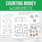 Counting Money Worksheets