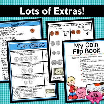 Counting Money Worksheets - Differentiated