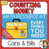 Counting Money Worksheets and more Coins and Bills 3rd Gra