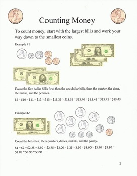 Counting Money and Counting Change