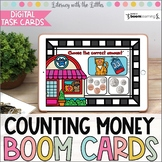Counting Money at the Pet Shop BOOM Cards | Distance Learning