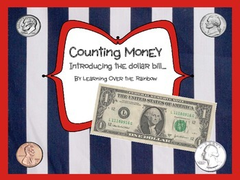 Counting Money - introducing the $1.00 bill