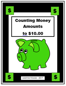 Counting Money to $10.00 Worksheets
