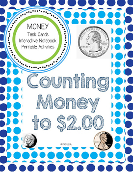 MONEY! Counting Money to $2.00