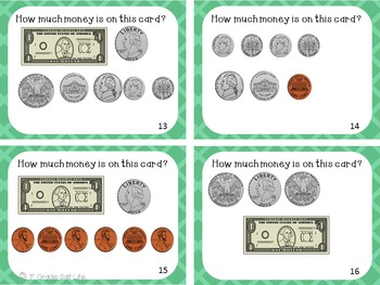 Money and Counting Coins / Counting Money to $2.00