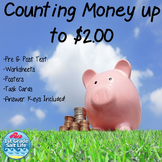 Money and Counting Coins / Counting Money to $2.00 VA SOL 2.7