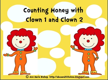 Counting Money with Clown1 and Clown 2