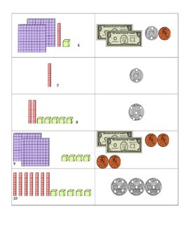 Counting Money with Touchpoints Center Activities Second Grade