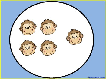 Counting Monkeys 1 to 120