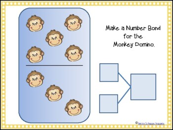 Counting Monkeys!! Ten Frames, Monkey Dots, and Number Bonds